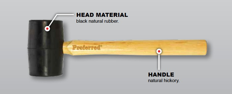 rubber-mallet-product-features