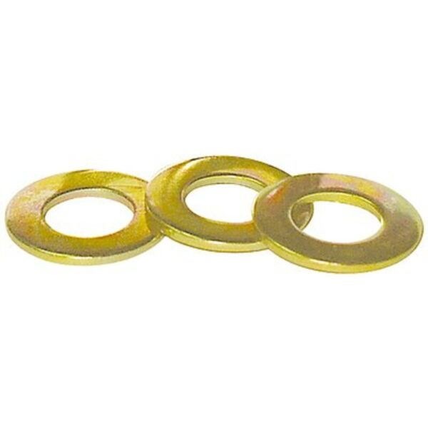 Flat Washer Yellow Zinc Group